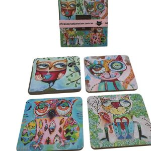 Wise Critters Coasters