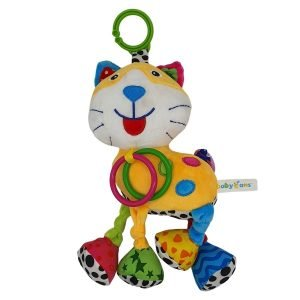 Soft Musical Cat Toy for Babies